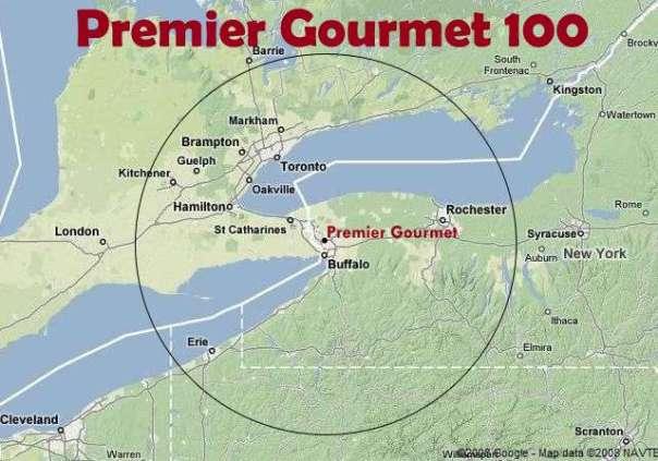 Premier 100 Map