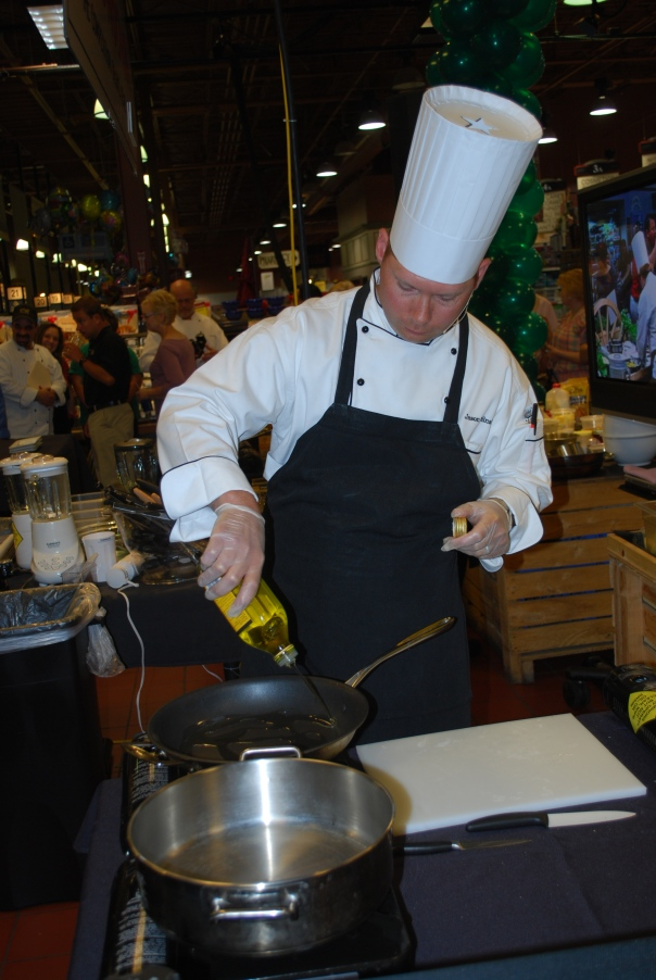Chef Jason from the Amherst Street store